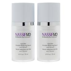 NassifMD® Quickfix Wrinkle Reduction Serum 2-pack
