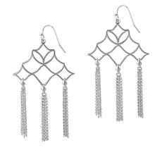 "Natalie Wood Designs  ""Southern Charm"" Tassel Drop Earrings"