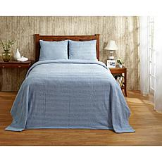 Natick 100% Cotton Tufted Chenille Bedspread - King