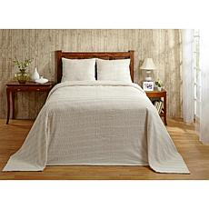 Natick 100% Cotton Tufted Chenille Bedspread - Twin