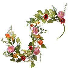 National Tree 5' Spring Flower Garland
