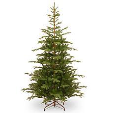 National Tree 7.5' Feel Real® Norwegian Spruce Hinged Tree