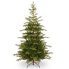 National Tree 7.5' Feel Real® Norwegian Spruce Hinged Tree