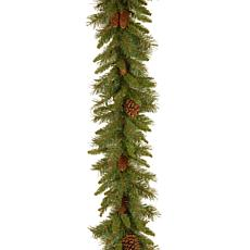 National Tree Pine Cone Garland - 9' x 10""