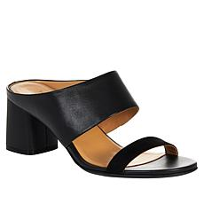 Naturalizer Abbey Leather Block Heel Sandal