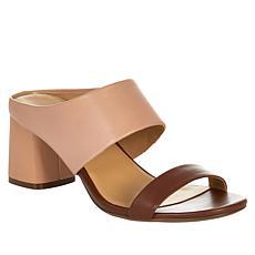 Naturalizer Abbey Leather Block Heel Sandal