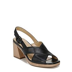 Naturalizer Renly Crossover Strap Slingback Heeled Sandal