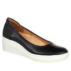 Naturalizer Sam Leather Comfort Wedge Pump