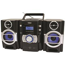 Naxa Portable MP3/CD Player with FM Stereo Radio & USB Input
