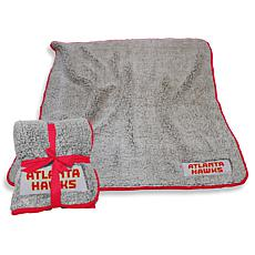 NBA Frosty Fleece Throw - Atlanta Hawks