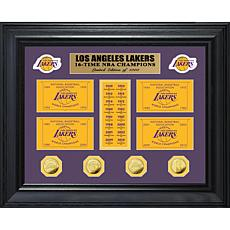 NBA Lakers 16-Time NBA Champs Banner Collection