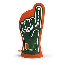 NCAA #1 Fan Oven Mitt - Miami Hurricanes