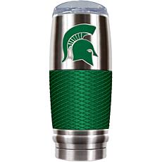 NCAA 30 oz. Stainless/Green Reserve Tumbler - Michigan State