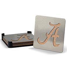 NCAA Boasters 4-piece Coaster Set - Alabama Crimson Tide