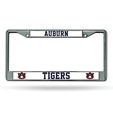 NCAA Chrome License Plate Frame - Auburn