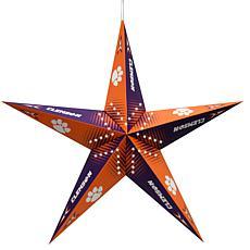 NCAA Clemson Tigers Star Lantern