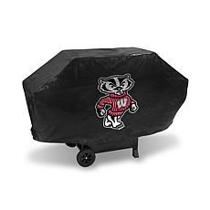 NCAA Deluxe Grill Cover - Wisconsin