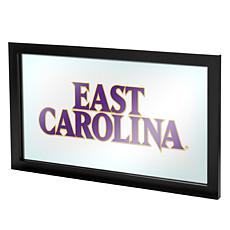 NCAA Framed Team Logo Wall Mirror - East Carolina