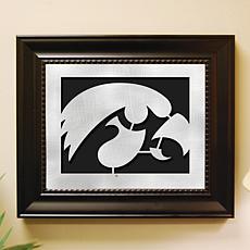 NCAA Laser Cut Logo Wall Art - Iowa