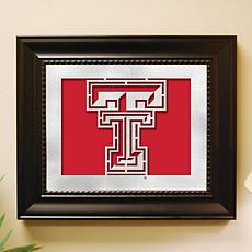 NCAA Laser Cut Logo Wall Art - Texas Tech