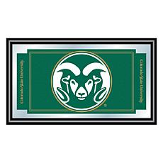 NCAA Logo and Mascot Framed Mirror - Colorado State