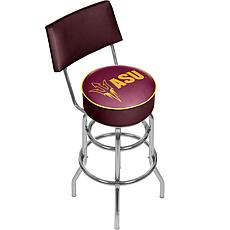 NCAA Padded Bar Stool with Back - Arizona State