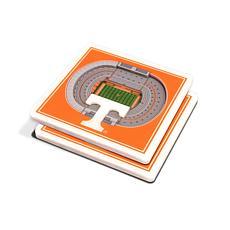NCAA Tennessee Volunteers 3-D Stadium Views Coaster Set