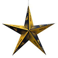 NCAA West Virginia Mountaineers Star Lantern