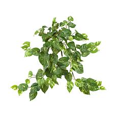 "Nearly Natural 30"" Pothos Hanging Bush 3-pack"