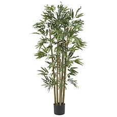 Nearly Natural 4 ft. Multi Bambusa Bamboo Tree