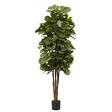 Nearly Natural 6 Ft. Fiddle Leaf Fig Silk Tree
