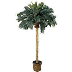 Nearly Natural 6' Sago Silk Palm Tree