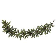 "Nearly Natural 60"" Pine & Pine Cone Garland"