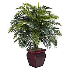 Nearly Natural Areca with Decorative Planter