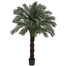 Nearly Natural UV-Resistant 6' Cycas Tree Indoor/Outdoor