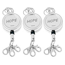 Necklace Express Retractable Cord Layered Necklace Adaptor 3-pack