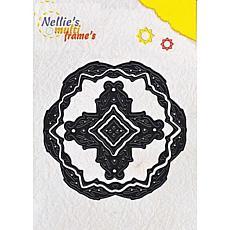 Nellie's Choice Multi Frame Dies - Round Leaves