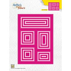 Nellie's Choice Multiframe Die Block Die Rectangle
