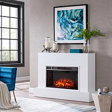 Nelliston Electric Fireplace TV Stand