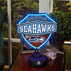 Neon Table Lamp - Seattle Seahawks