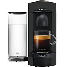 Nespresso VertuoPlus Coffee Espresso Single-Serve Machine in Black ...