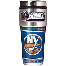 New York Islanders Travel Tumbler w/ Metallic Graphics