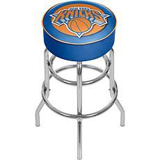 New York Knicks NBA Padded Swivel Bar Stool