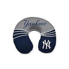 New York Yankees Memory Foam U-Neck Travel Pillow