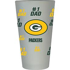 NFL 16 oz. Father's Day Pint Glass -  Packers