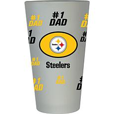 NFL 16 oz. Father's Day Pint Glass -  Steelers