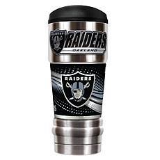NFL 18 oz. Stainless Steel MVP Tumbler - Raiders