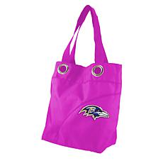 NFL Baltimore Ravens Color Sheen Tote