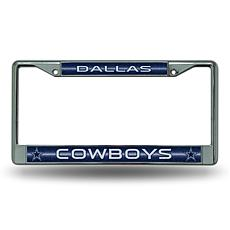NFL Bling Chrome Frame - Cowboys