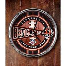 NFL Chrome Clock - Bengals